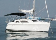 Продам Hunter 260 парусная яхта со ст двигателем  2001