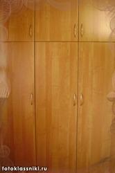 Шкаф трехстворчатый с антресолью