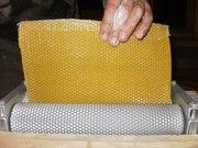 Вальцы ручные для изготовления вощины