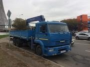 Кран манипулятор КамАЗ в аренду ежедневно в Ярославле