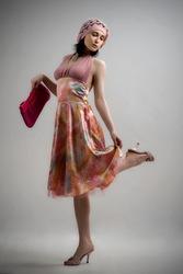 Платье в стиле романтик