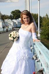 Продам пышное белое свадебное платье